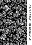 vintage floral background ...   Shutterstock .eps vector #248164780
