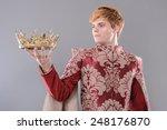 medieval king. medieval king... | Shutterstock . vector #248176870