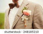 Groom In The Wedding Suit