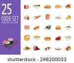 delicious food  different... | Shutterstock .eps vector #248200033