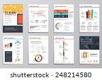 business infographics elements... | Shutterstock .eps vector #248214580