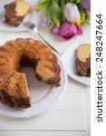 traditional gugelhupf sponge... | Shutterstock . vector #248247664