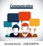 speech bubbles communication... | Shutterstock .eps vector #248248996