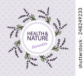 health and nature collection.... | Shutterstock .eps vector #248249233