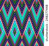 Tribal Ikat Pattern
