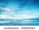 Winter Coastal Landscape With...