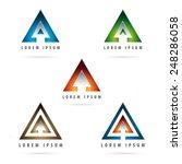 Dynamic Arrow Shaped Design...