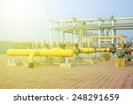 crude oil processing and... | Shutterstock . vector #248291659