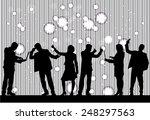 business people | Shutterstock .eps vector #248297563