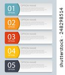 infographic templates for... | Shutterstock .eps vector #248298514