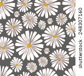 Pattern Of Daisies.seamless...