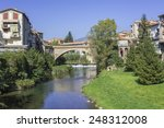 landscape river bridge in the... | Shutterstock . vector #248312008