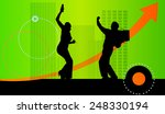 vector illustration with... | Shutterstock .eps vector #248330194