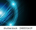 blue abstract background | Shutterstock . vector #248331619