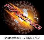 racing concept vector | Shutterstock .eps vector #248336710