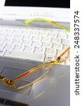 Small photo of eyewear anc PC