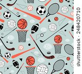 color graphic pattern sporting... | Shutterstock .eps vector #248420710