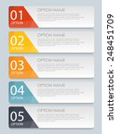 infographic templates for... | Shutterstock .eps vector #248451709