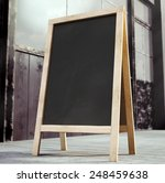 3d Rendering Of Chalkboard
