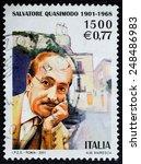 italy   circa 2001  a stamp... | Shutterstock . vector #248486983