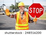 Friendly Construction Worker I...