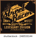 Street Racer Tee Graphic