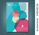 report template design | Shutterstock .eps vector #248568136