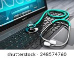 healthcare  medicine and... | Shutterstock . vector #248574760