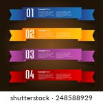 colorful modern text box...   Shutterstock .eps vector #248588929
