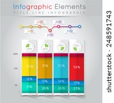 abstract business info graphics.... | Shutterstock .eps vector #248591743