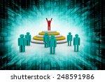 team leader | Shutterstock . vector #248591986