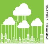 cloud computing connectivity ...   Shutterstock .eps vector #248621908