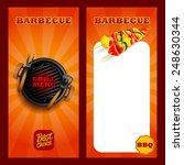 menu bbq | Shutterstock .eps vector #248630344
