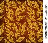 thailand pattern seamless vector   Shutterstock .eps vector #248631604
