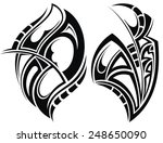 tattoo design | Shutterstock .eps vector #248650090
