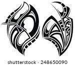 tattoo design | Shutterstock .eps vector #248650090