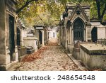 old french cemetery in autumn | Shutterstock . vector #248654548