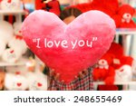 I Love You S Heart Holding By ...