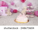 cake decorated with fondant | Shutterstock . vector #248673604