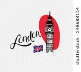 Big Ben  London  Uk Vector...