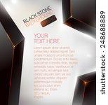 black crystal background  ...   Shutterstock .eps vector #248688889