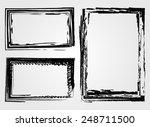 grunge frame.distress frame... | Shutterstock .eps vector #248711500
