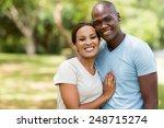 beautiful african american...   Shutterstock . vector #248715274