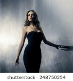 Young And Gorgeous Actress Ove...