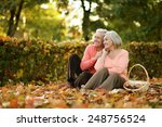 Beautiful Caucasian Elderly...