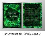modern vector business flyer... | Shutterstock .eps vector #248762650