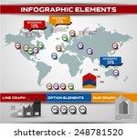 world map background. modern... | Shutterstock .eps vector #248781520