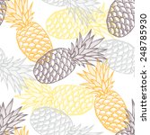elegant seamless pattern with... | Shutterstock .eps vector #248785930