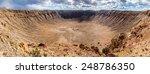 Arizona Meteor Crater  Usa....