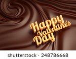 happy valentines day. chocolate ... | Shutterstock . vector #248786668
